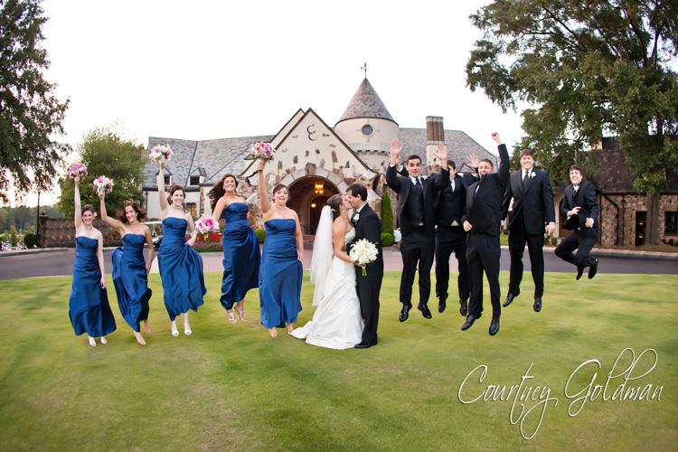 Northside United Methodist Church Wedding Capital City Country Club Reception Courtney Goldman Photography 14