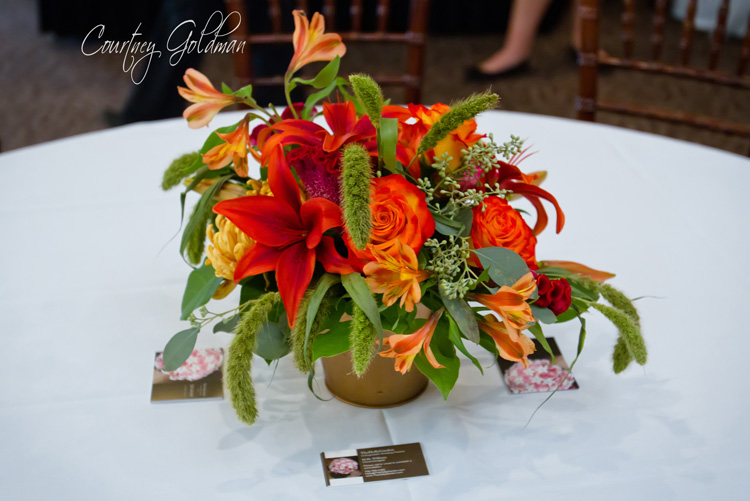 Trumps Catering Athens Wedding Flowers Courtney Goldman Photography 12