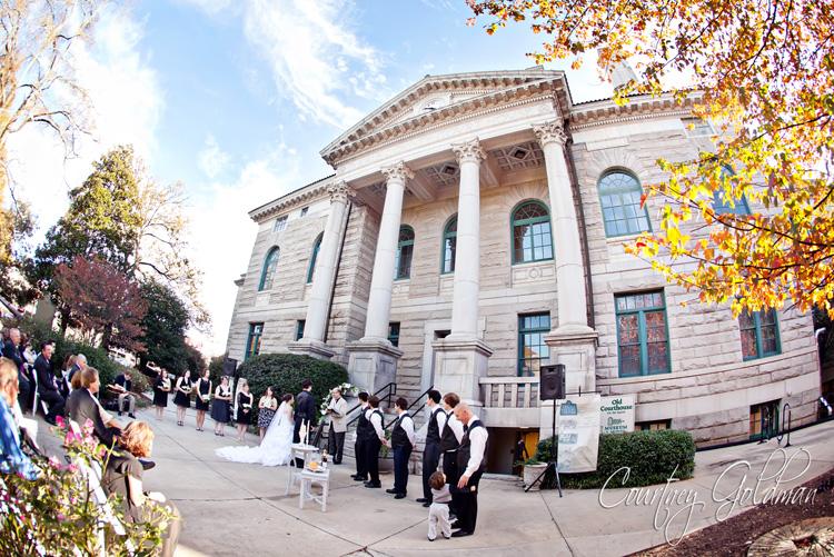 Decatur Courthouse Agnes Scott Wedding Courtney Goldman Photography (17)