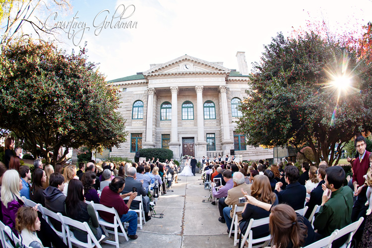 Decatur Courthouse Agnes Scott Wedding Courtney Goldman Photography (12)