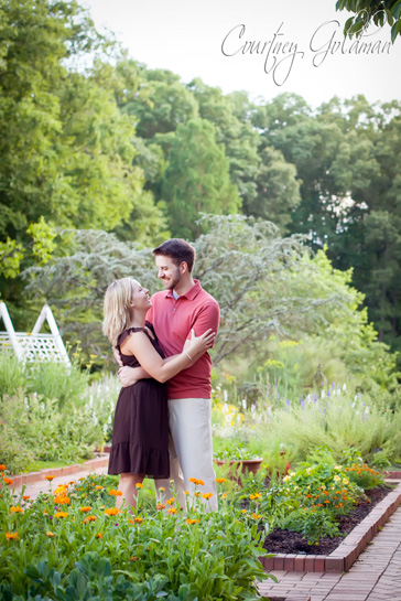 Athens Georgia Botanical Garden Engagement Session Courtney Goldman Photography (5)