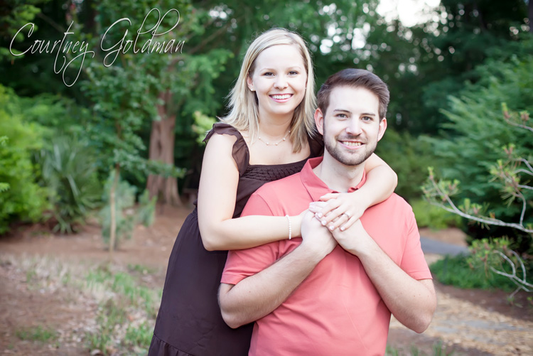 Athens Georgia Botanical Garden Engagement Session Courtney Goldman Photography (2)