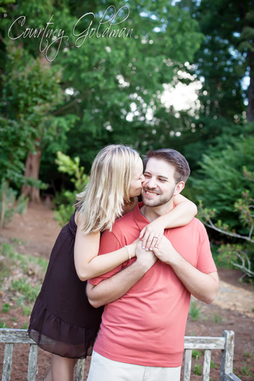 Athens Georgia Botanical Garden Engagement Session Courtney Goldman Photography (1)