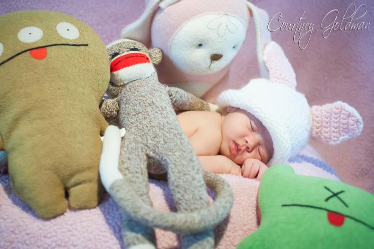 Atlanta Newborn Baby Photo Session by Courtney Goldman Photography