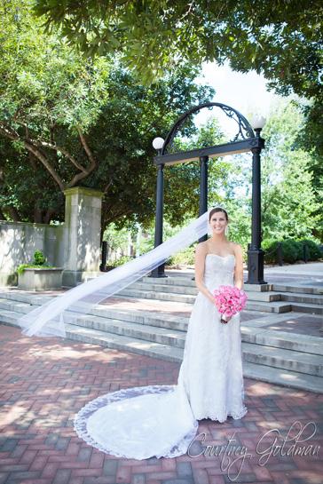Wedding Ceremony UGA Chapel Athens Georgia Courtney Goldman Photography (11)