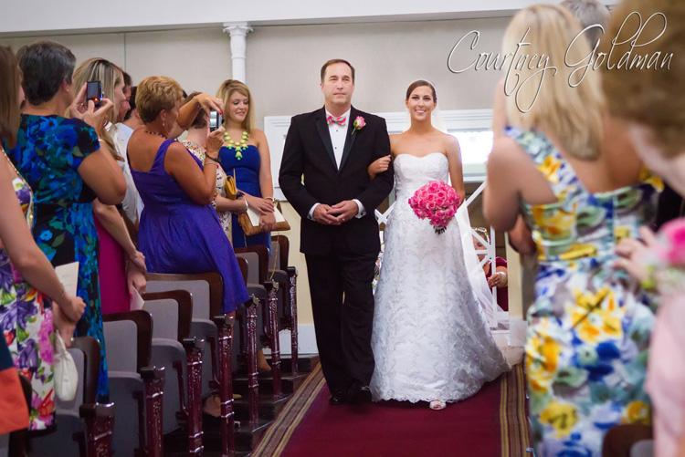 Wedding Ceremony UGA Chapel Athens Georgia Courtney Goldman Photography (8)