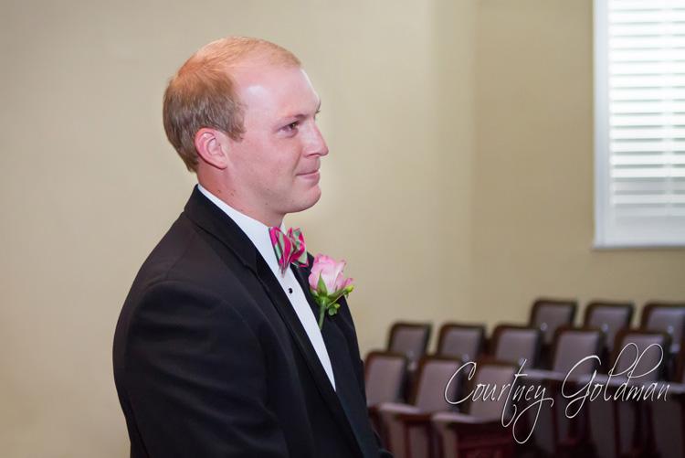 Wedding Ceremony UGA Chapel Athens Georgia Courtney Goldman Photography (7)