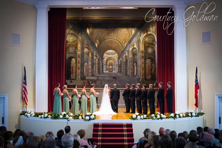 Wedding Ceremony UGA Chapel Athens Georgia Courtney Goldman Photography (6)