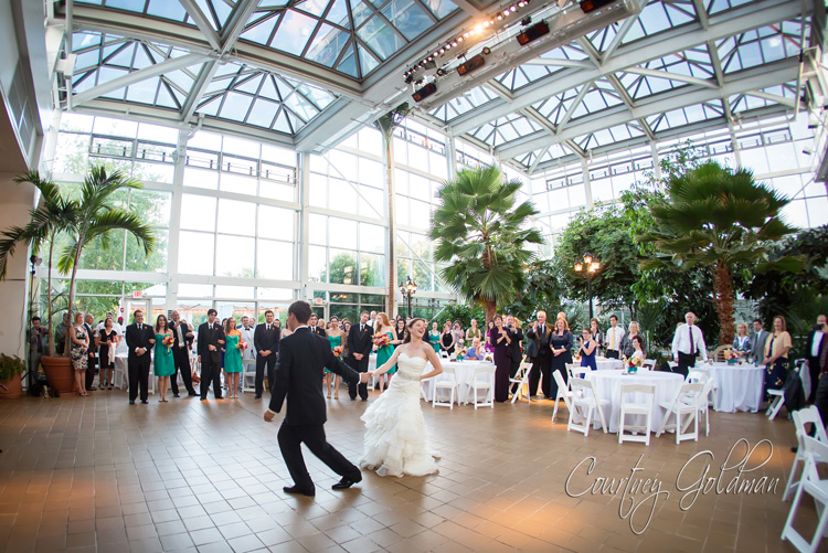 Athens Georgia Botanical Garden Conservatory Wedding by Courtney Goldman Photography (2)