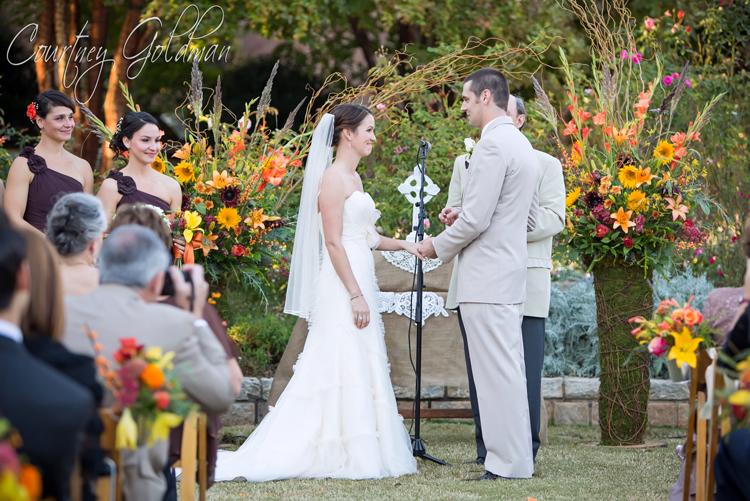 Atlanta Botanical Garden Wedding Ceremony Courtney Goldman Photography 22