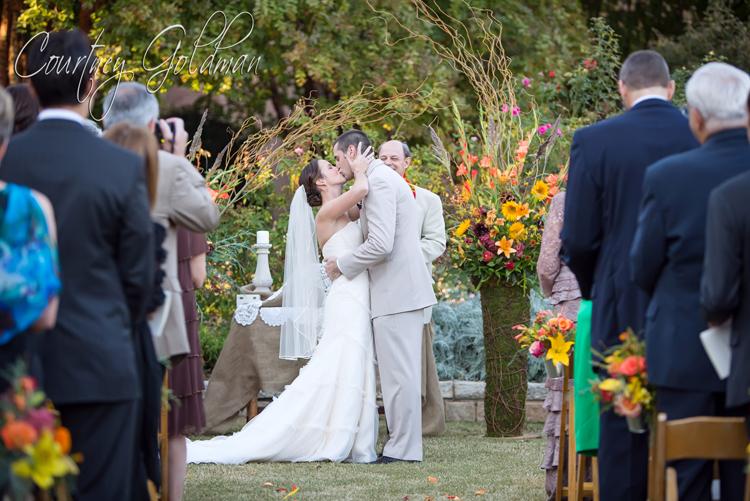 Atlanta Botanical Garden Wedding Ceremony Courtney Goldman Photography 23