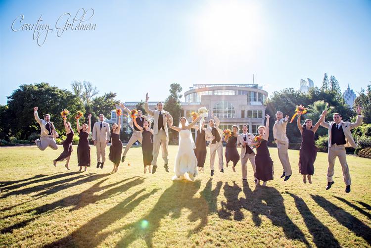 Atlanta Botanical Garden Wedding Courtney Goldman Photography 15