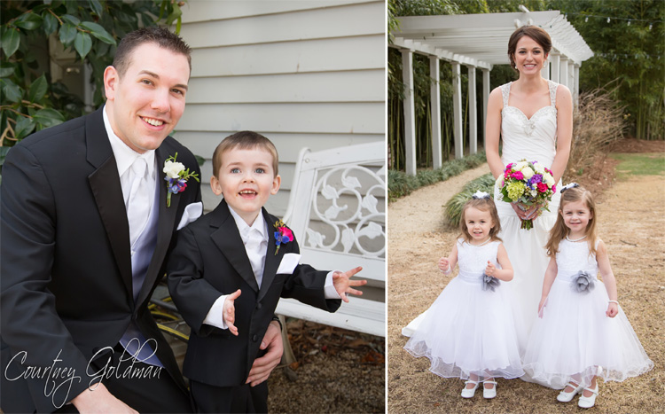 The-Thompson-House-and-Gardens-Wedding-in-Bogart-and-Athens-Georgia-by-Courtney-Goldman-Photography-08-bride-and-flower-girls-groom-and-ring-bearer.jpg