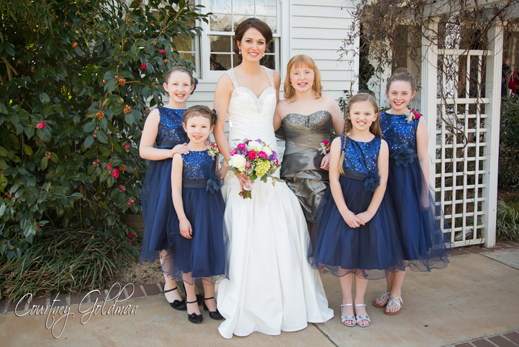 The-Thompson-House-and-Gardens-Wedding-in-Bogart-and-Athens-Georgia-by-Courtney-Goldman-Photography-12-bride-and-junior-bridesmaids.jpg