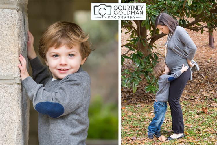 Fall Family Portrait Session at McClatchy Park in Ansley Park in Atlanta Georgia by Courtney Goldman Photography 08