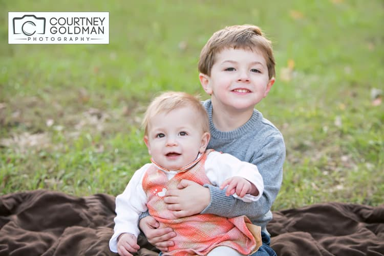 Fall Family Session at Piedmont Park in Atlanta Georgia by Courtney Goldman Photography 03