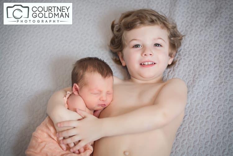 Newborn Session in Atlanta Georgia by Courtney Goldman Photography 1