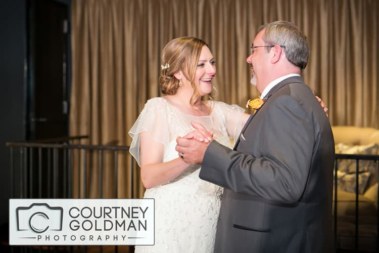 Athens Georgia Wedding Reception at Hotel Indigo by Courtney Goldman Photography 190