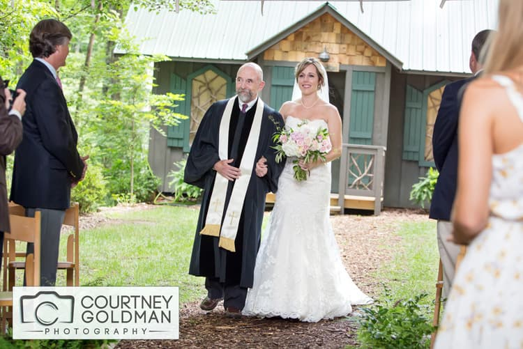 Atlanta Georgia Photographer Asheville Saluda Wedding Ceremony at The Canoe Dock by Courtney Goldman Photography 15