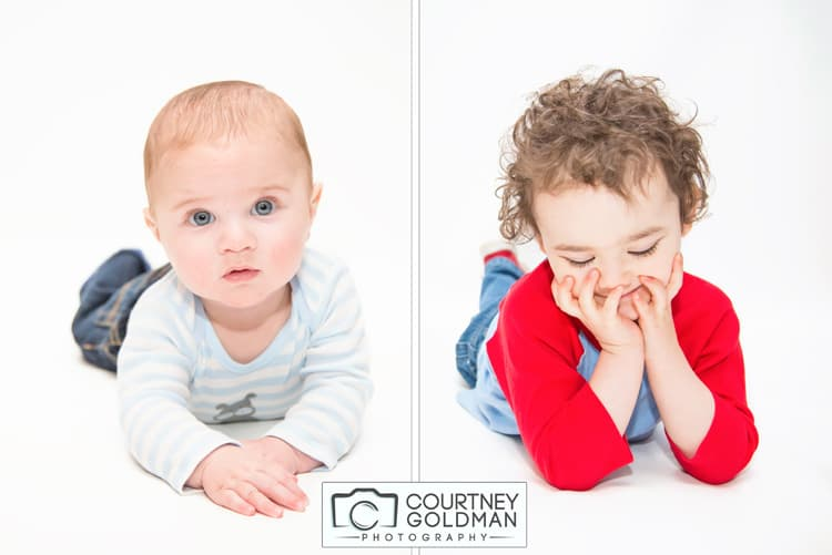 Children and Family Studio Sessions by Courtney Goldman Photography 11