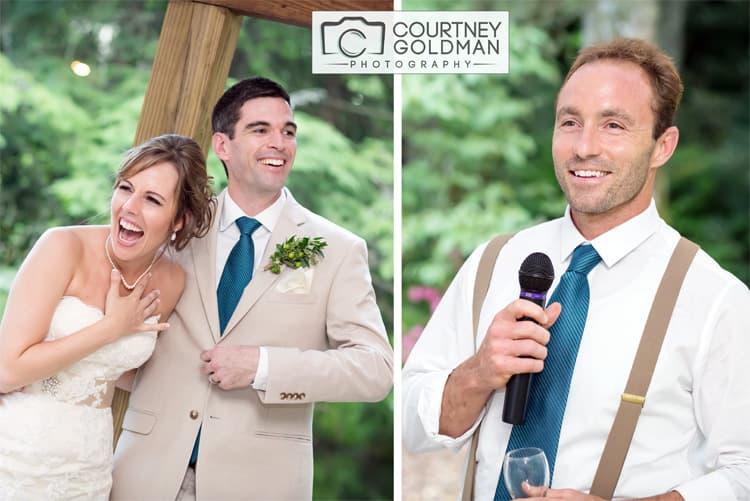 North Carolina Wedding Reception at The Canoe Dock in Saluda Zirconia by Courtney Goldman Photography 015