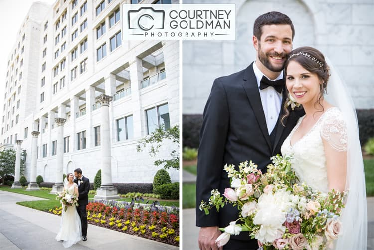 Atlanta Georgia Wedding Portraits at The Federal Reserve by Courtney Goldman Photography 132