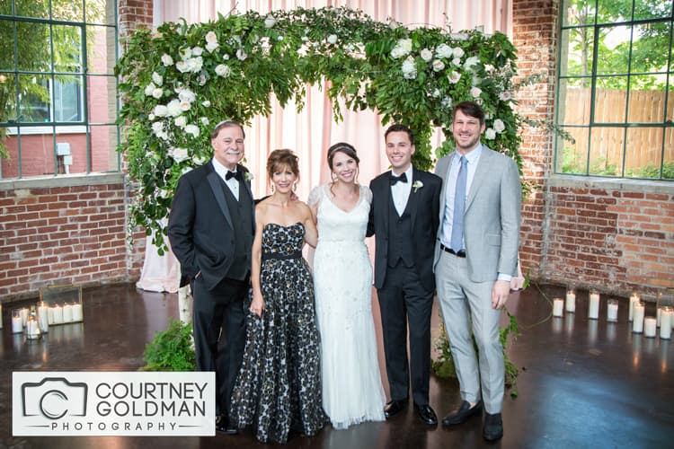 Atlanta Georgia Wedding Portraits at The Foundry at Puritan Mill by Courtney Goldman Photography 139