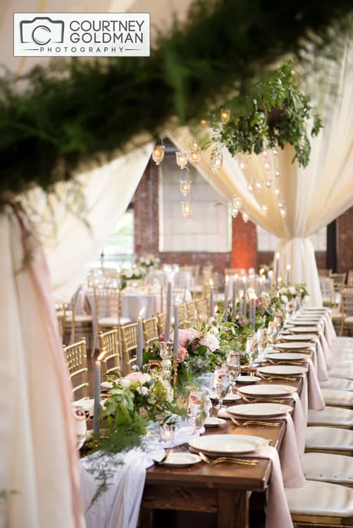 Jewish Wedding Reception at The Foundry at Puritan Mills in Atlanta Georgia by Courtney Goldman Photography 265