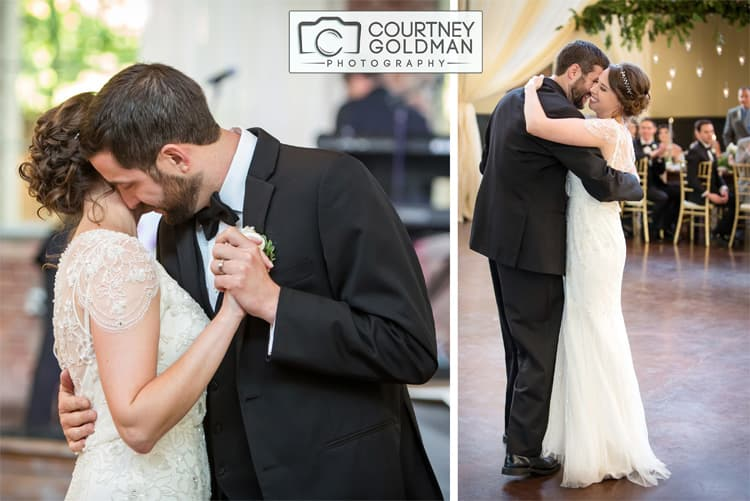 Jewish Wedding Reception at The Foundry at Puritan Mills in Atlanta Georgia by Courtney Goldman Photography 266