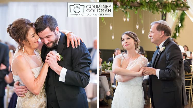 Jewish Wedding Reception at The Foundry at Puritan Mills in Atlanta Georgia by Courtney Goldman Photography 267