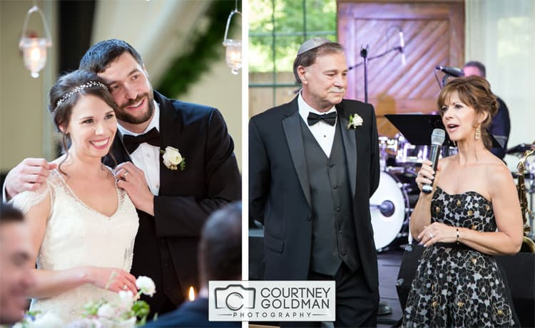 Jewish Wedding Reception at The Foundry at Puritan Mills in Atlanta Georgia by Courtney Goldman Photography 268
