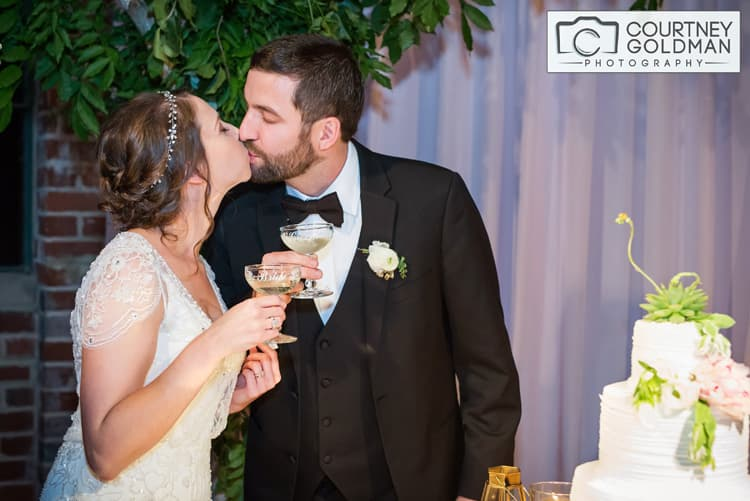 Jewish Wedding Reception at The Foundry at Puritan Mills in Atlanta Georgia by Courtney Goldman Photography 271