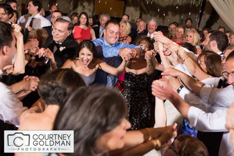Jewish Wedding Reception at The Foundry at Puritan Mills in Atlanta Georgia by Courtney Goldman Photography 276