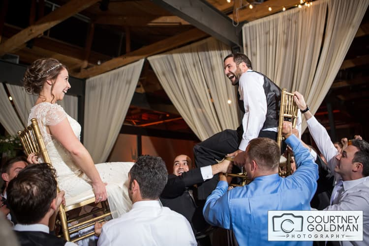 Jewish Wedding Reception at The Foundry at Puritan Mills in Atlanta Georgia by Courtney Goldman Photography 278