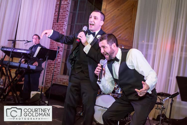 Jewish Wedding Reception at The Foundry at Puritan Mills in Atlanta Georgia by Courtney Goldman Photography 283