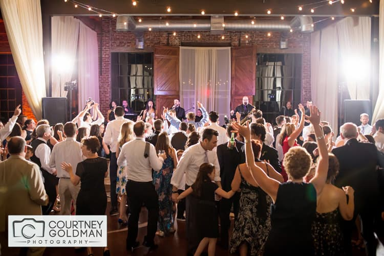 Jewish Wedding Reception at The Foundry at Puritan Mills in Atlanta Georgia by Courtney Goldman Photography 284