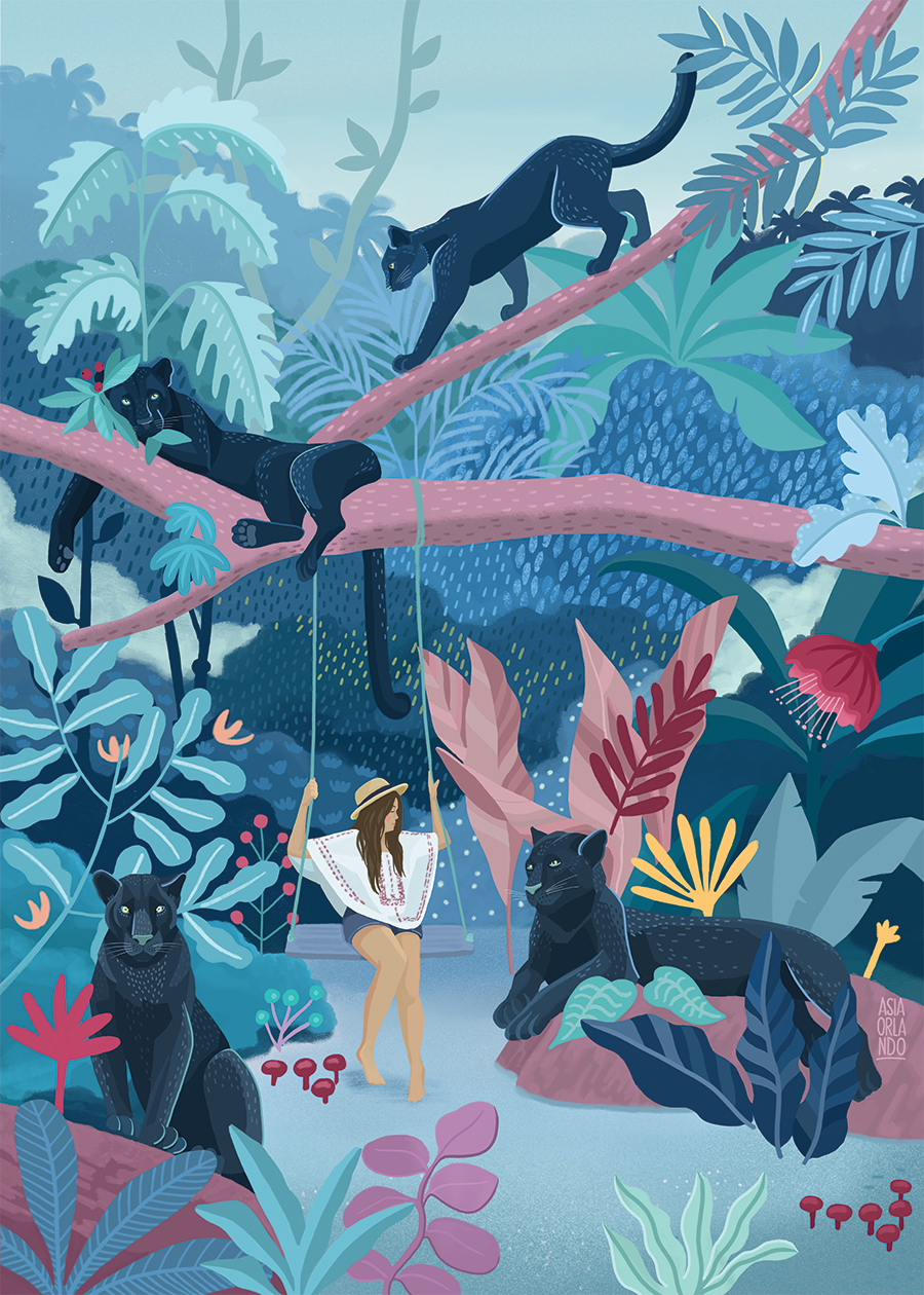 panthers-lady-water-jungle-botanicall-book-ilustration-cover-asia-orlando-@asiaorlando_.png