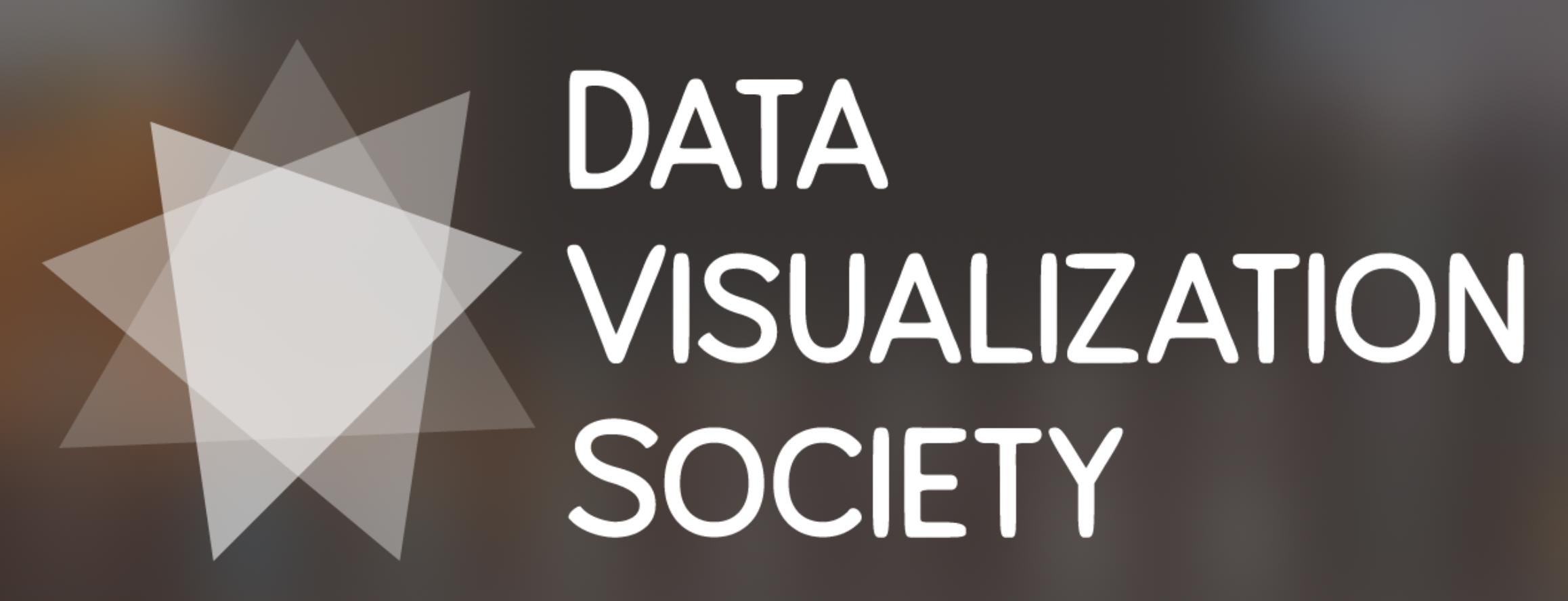 Data Visualization Society white logo