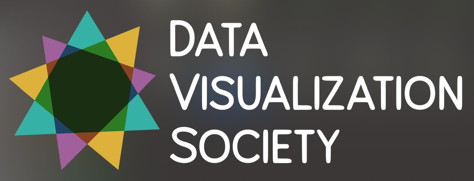 Data Visualization Society main logo (white version)