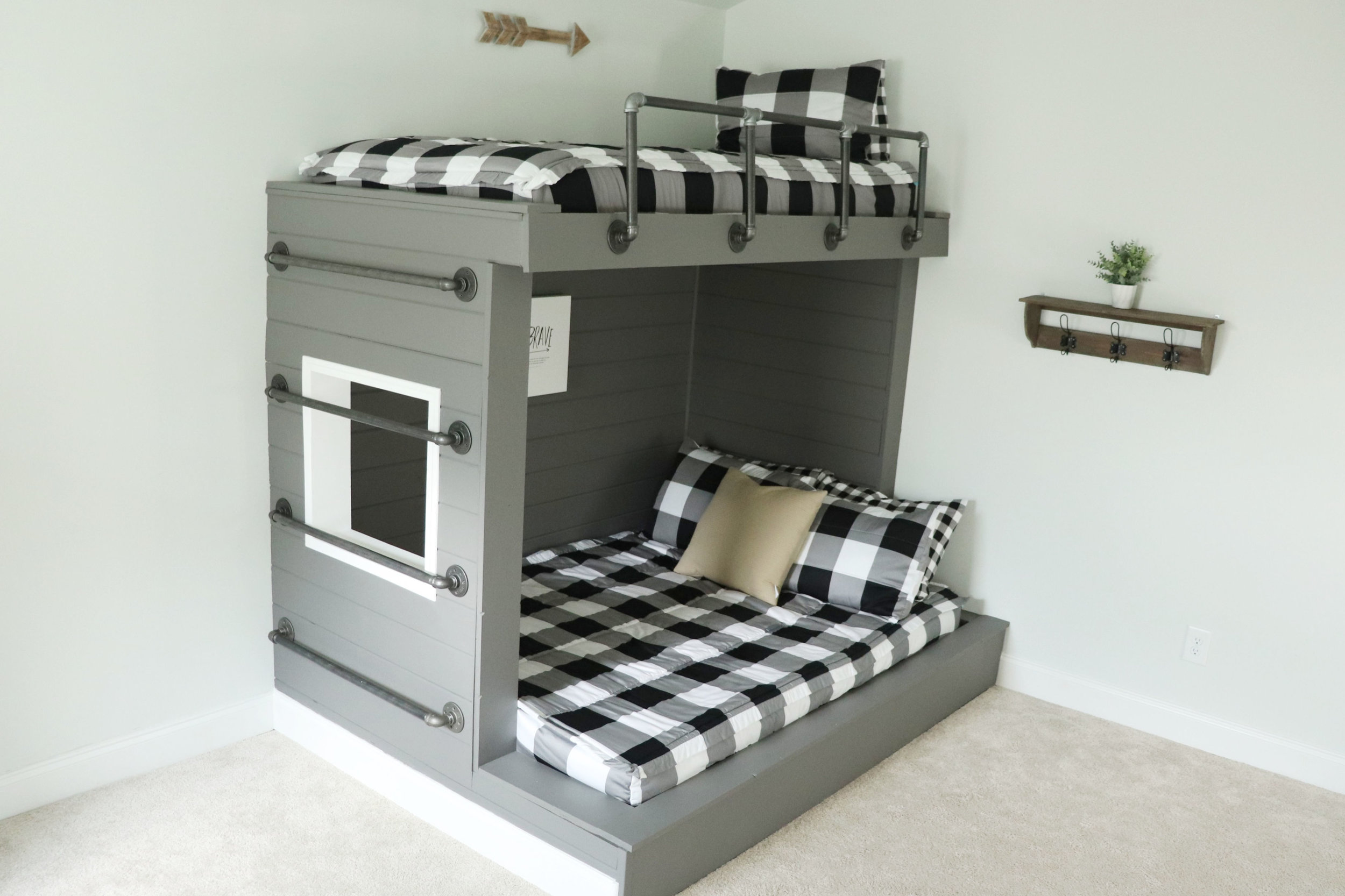 bunk bed build