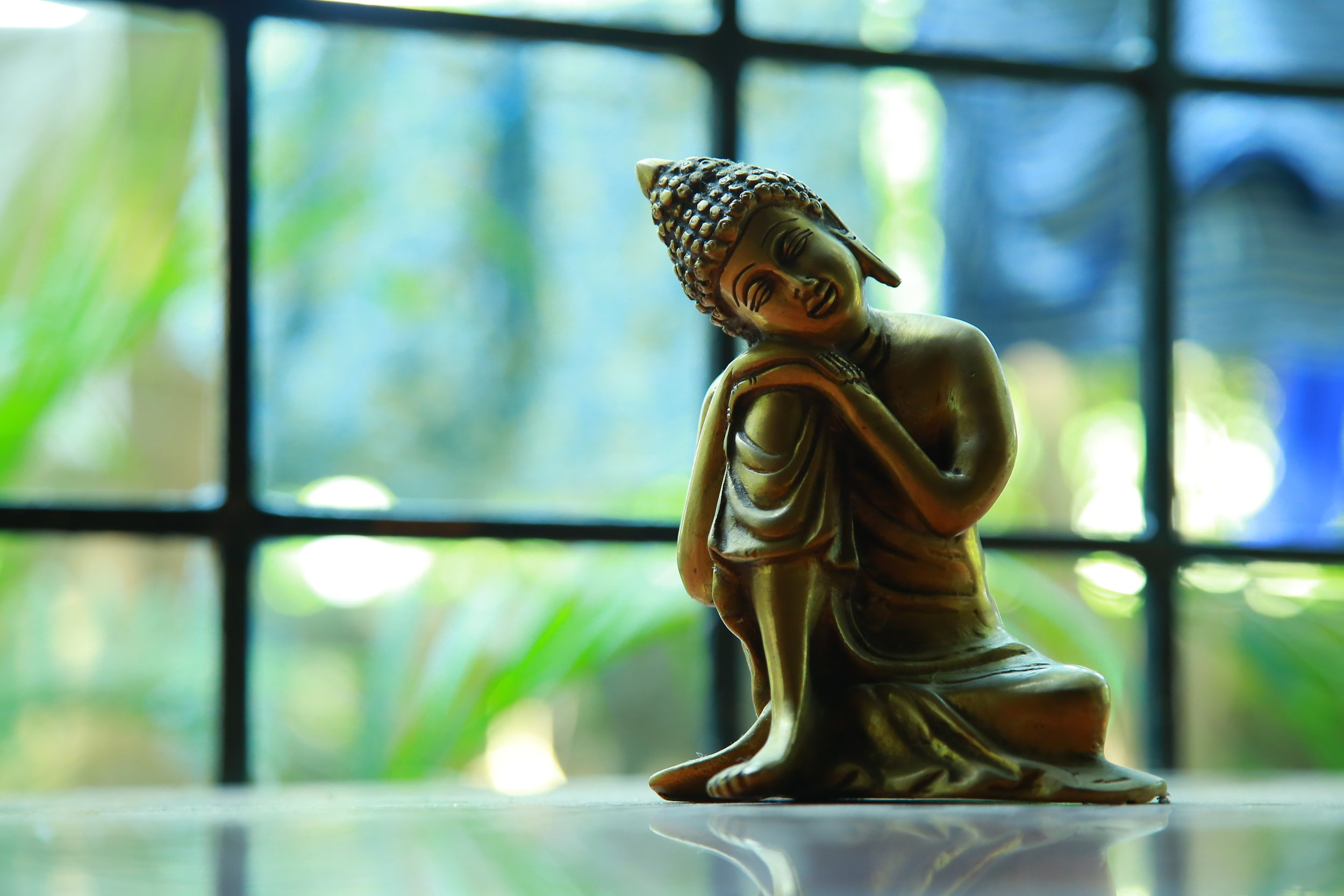 Buddha resting/Buddhist Psychology