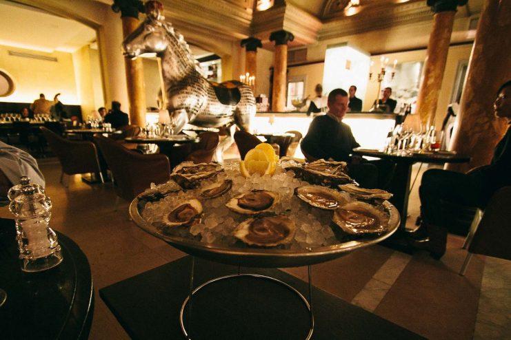Platter of Oysters at Belga Queen