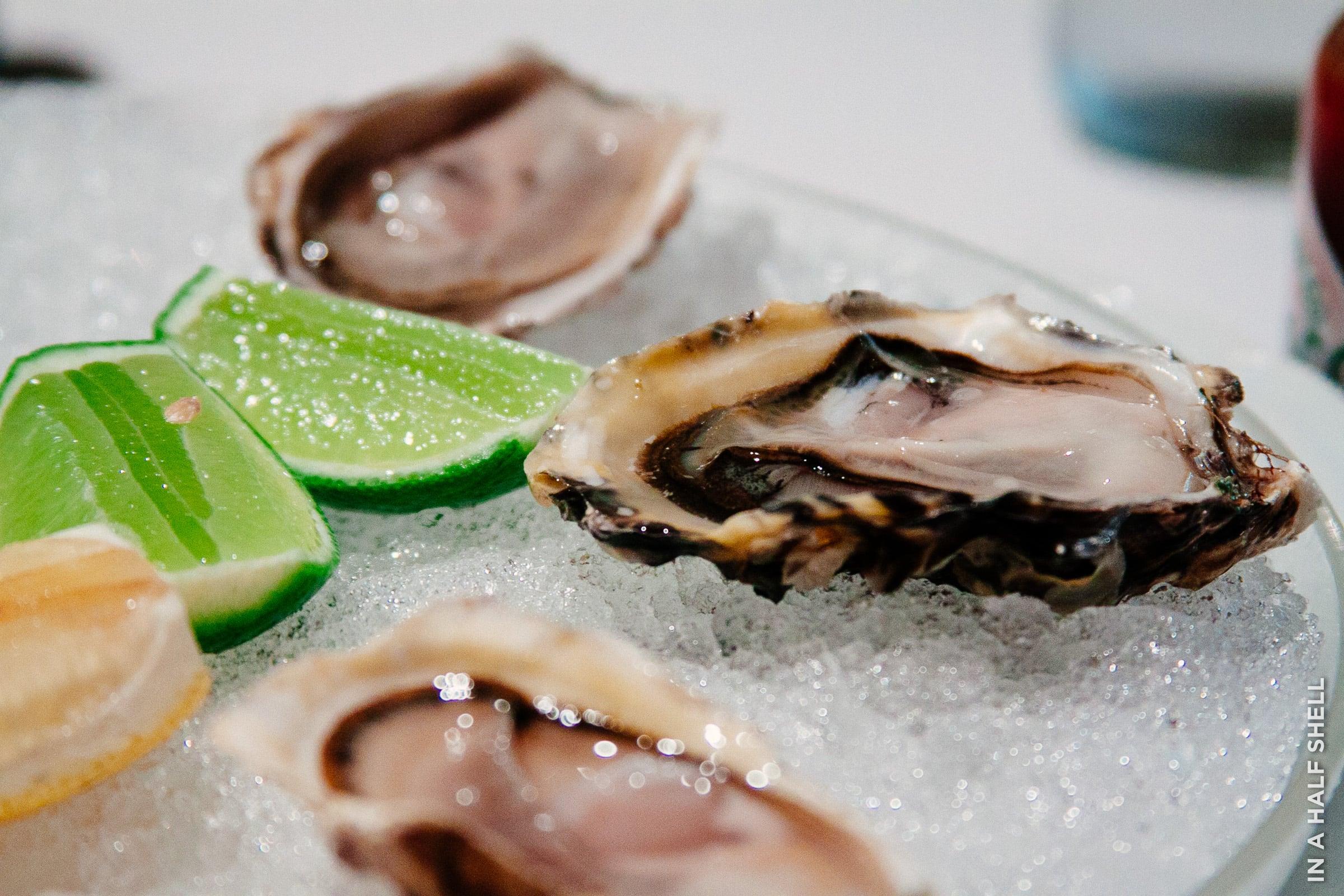 Santa Catarina oysters in Rio de Janeiro, Brazil