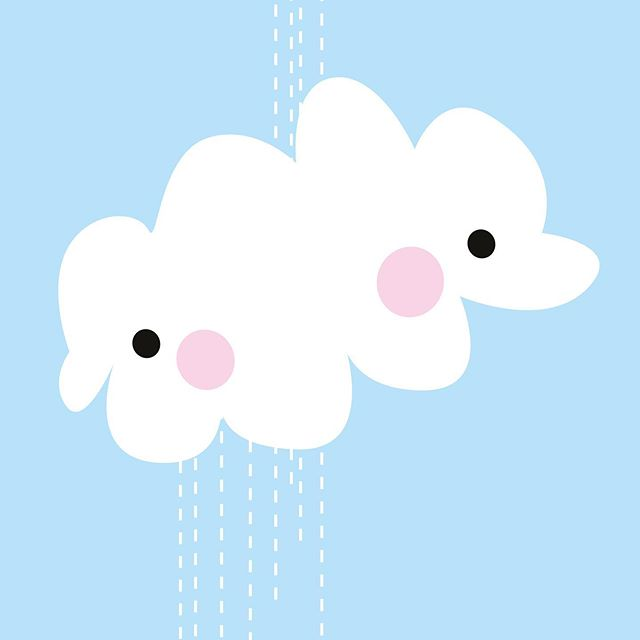 ★ Happy rainy day ★ ★ ★  #momolu #momoluofficial #momoluandfriends #momoluminis #kidsart #finnishdesign #leenafredriksson #ferly #ferlyofficial #momolupikumo