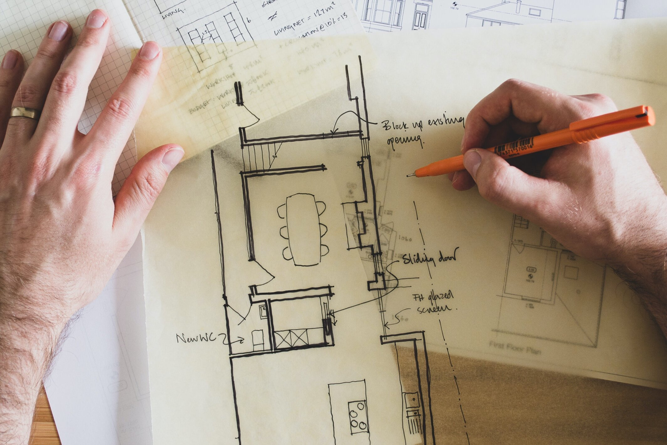 Architect's drawings and plans