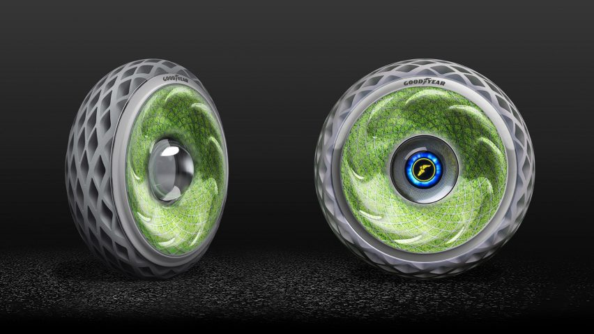 oxygene concept tire  goodyear corporate