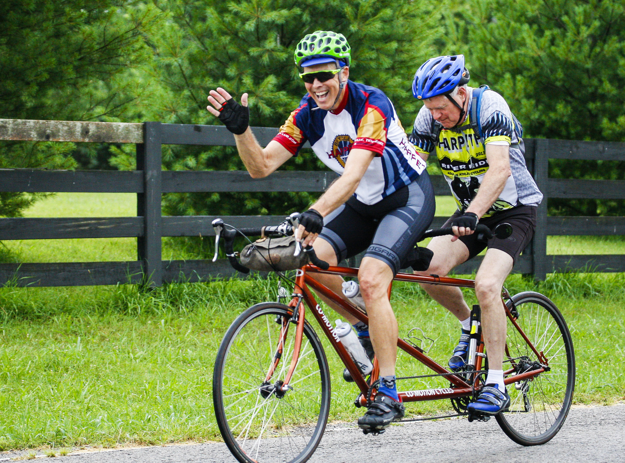 Adaptive Athletes - Regular events for blind tandem stokers, wounded warriors, and more