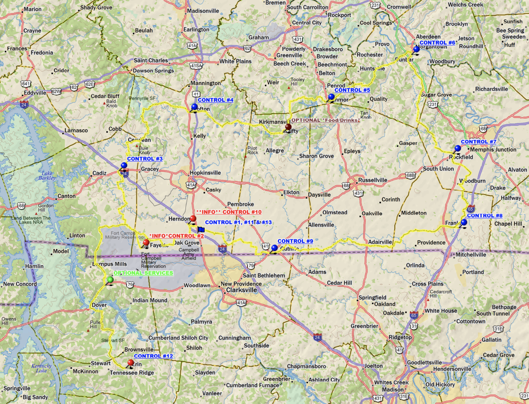 Oak Grove 200K, 400K & 600K - April 27, 2019200k: Ride With GPS Route400k: Ride With GPS Route400k: PDF Route600k: Ride With GPS Route600k: PDF RouteDirections to Oak Grove, KYRecommended Hotel: Sleep Inn in Oak Grove