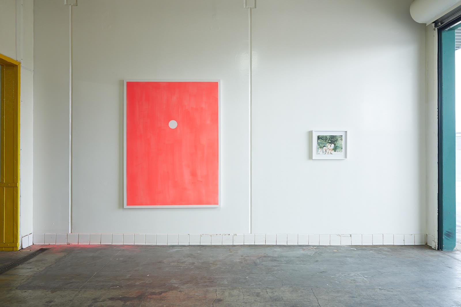 Installation view, Nicholas Woods