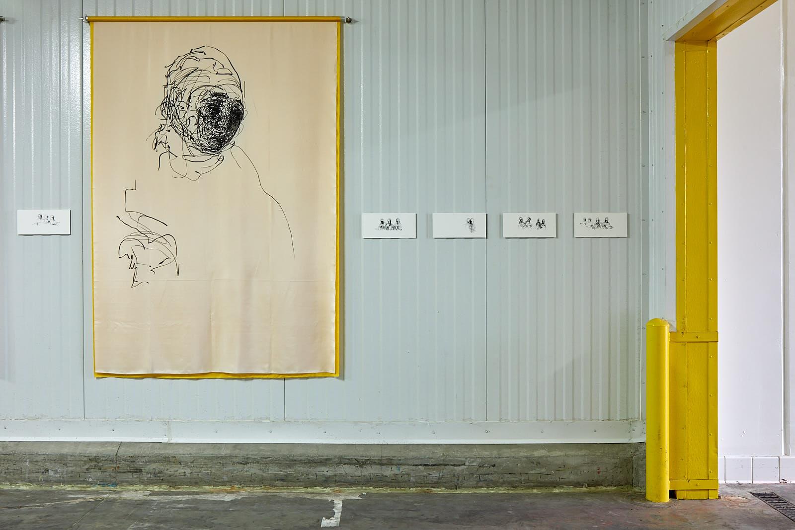 Installation view, Clara Montoya